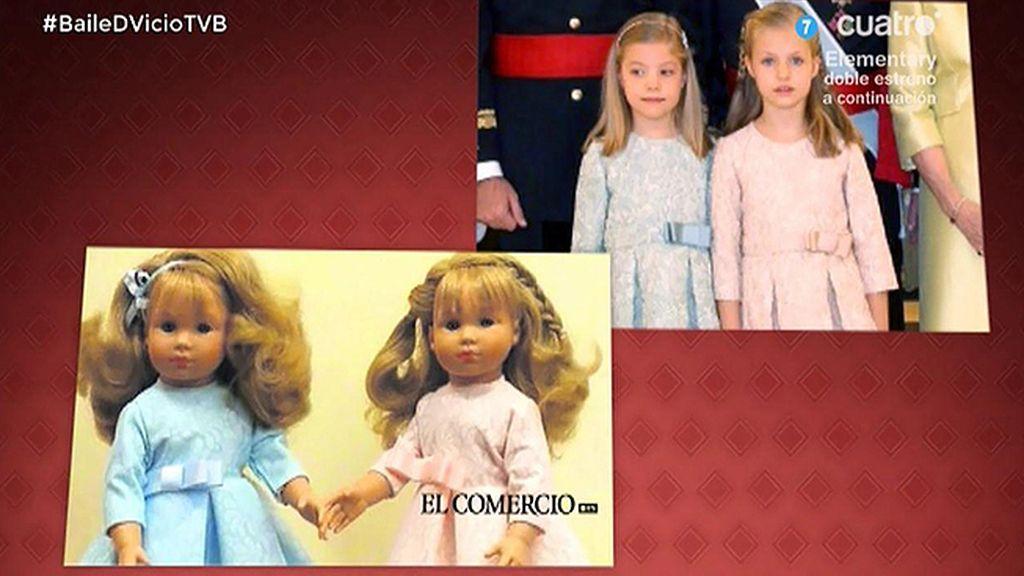 Ya a la venta las muñecas de Leonor y Sofía
