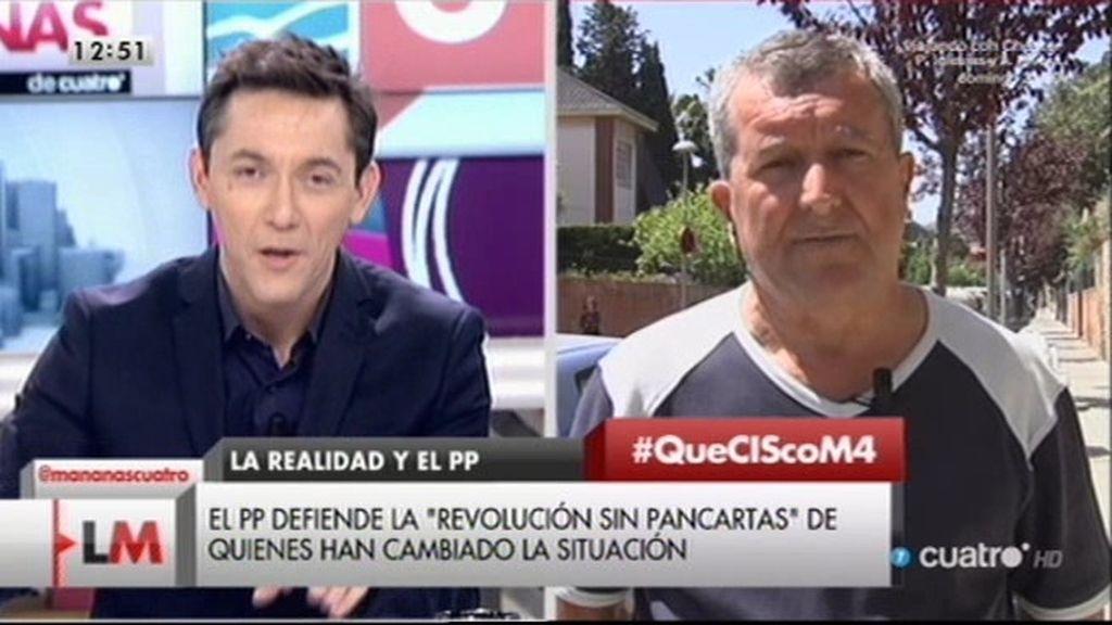 """Domiciano: """"A mí sólo me han subido la pensión un euro y medio"""""""