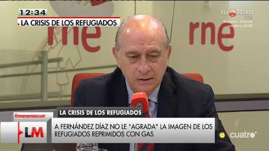 """Fernández Díaz: """"Europa no está preparada para un éxodo humano como el que se está produciendo"""""""