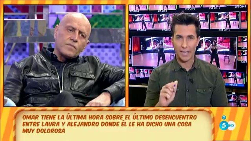"K. Matamoros, a Alejandro: ""Me das pena"""