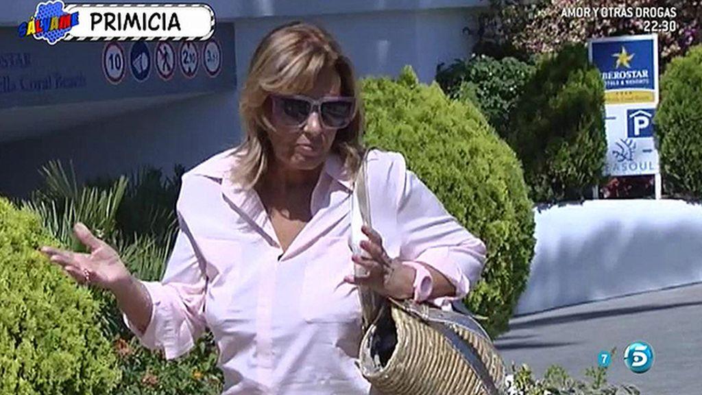 """María Teresa Campos, en Marbella: """"Dejad a Edmundo tranquilo"""""""