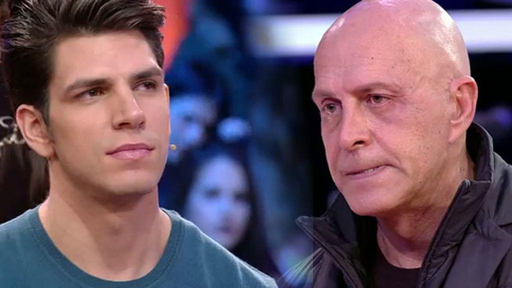 """Kiko, a Diego: """"Hay cosas que tenemos que hablar antes de darnos un abrazo"""""""