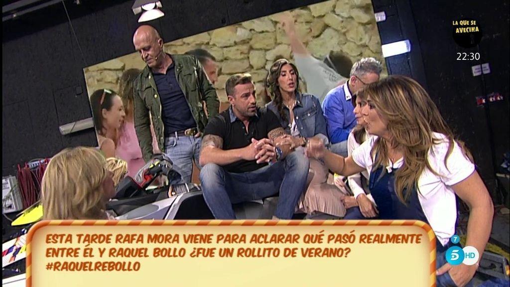 """Rafa Mora niega haber tenido nada con Raquel Bollo y advierte a Toño Sanchís: """"Los demás podemos contar cosas"""""""