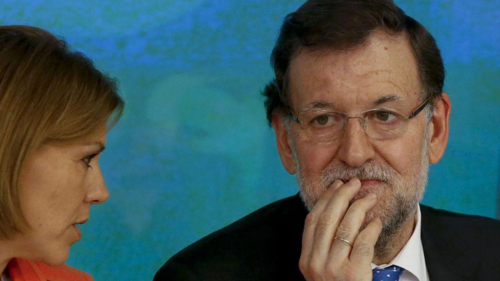 """Cospedal: """"Rajoy se ha referido a la no extrapolación de estos resultados"""""""