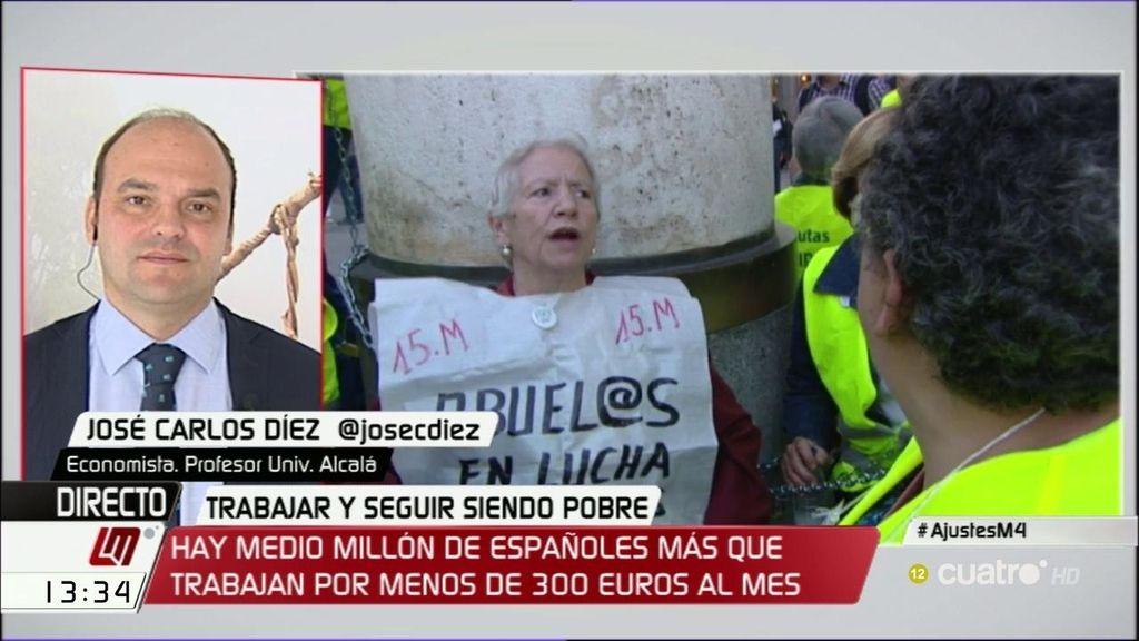 """José Carlos Díez: """"Rajoy va a volver a mentir a sus votantes y a subir los impuestos"""""""