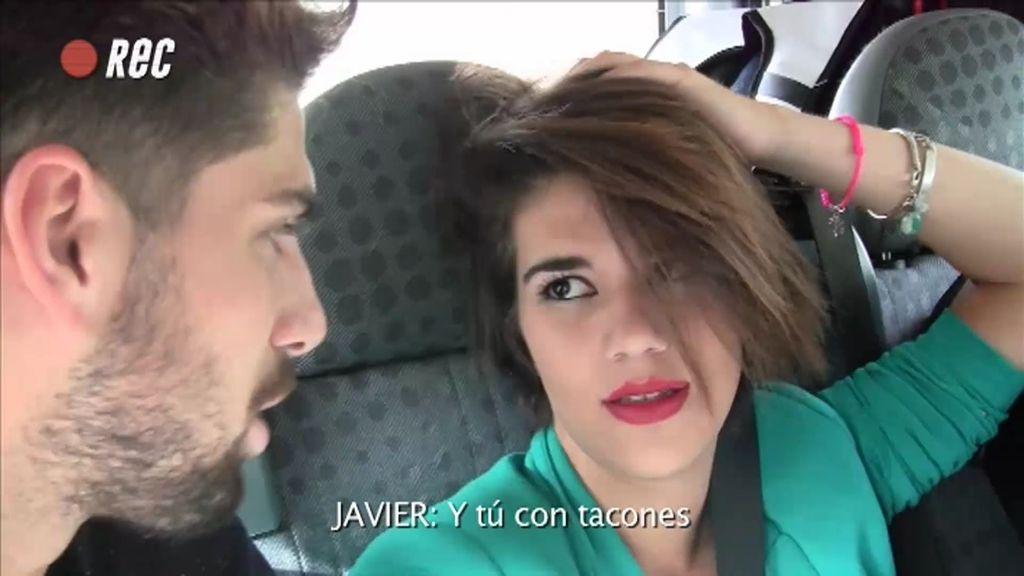 Marlene y Javier intiman en su primer viaje juntos
