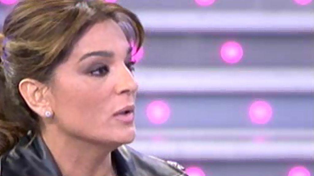 """Raquel Bollo, a Triana: """"Yo creo que Kiko Rivera sí ha estado enamorado de ti"""""""
