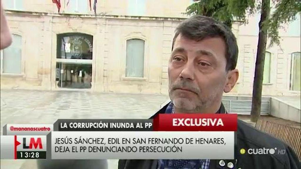 """Jesús Sánchez, concejal del PP: """"Puse en conocimiento del partido unos hechos que entendía que podían ser irregulares"""""""