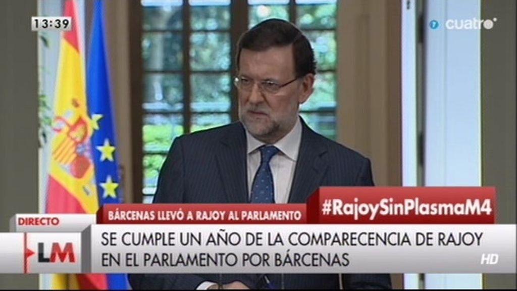 """Rajoy, sobre la corrupción política: """"La justicia está tratando a todos por igual"""""""