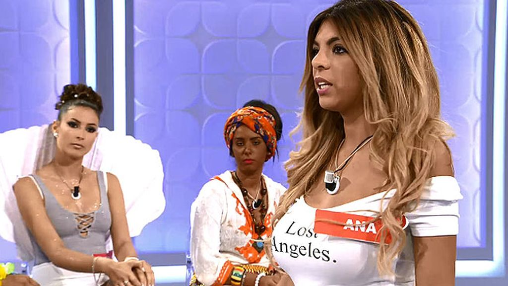 Ana 'Anginas' se siente atacada por sus compañeras en 'Mujeres y hombres'