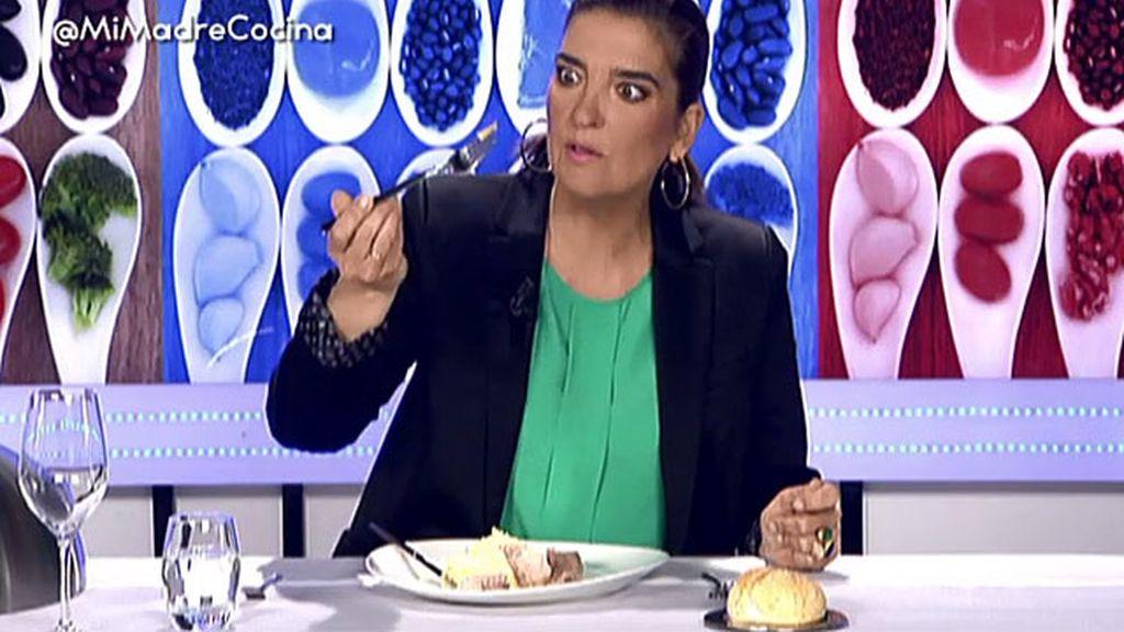 """María Jiménez Latorre: """"La salsa verde no es una salsa, es un amasijo de hierbas"""""""