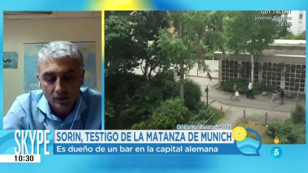 """Sorín, residente en Munich: """"Todos pensaban que eran un atentado terrorista islamista"""""""