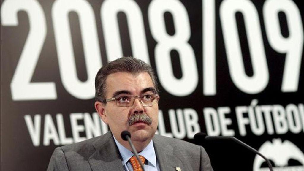 Juan Soler, expresidente del Valencia, acusado del intento de secuestro de Vicente Soriano