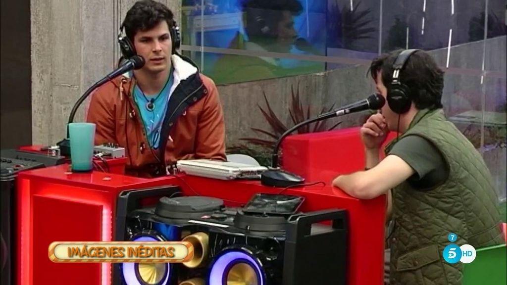 """Alejandro, a Fran: """"Estoy quemado de estar aquí, de la gente, de las tonterías"""""""