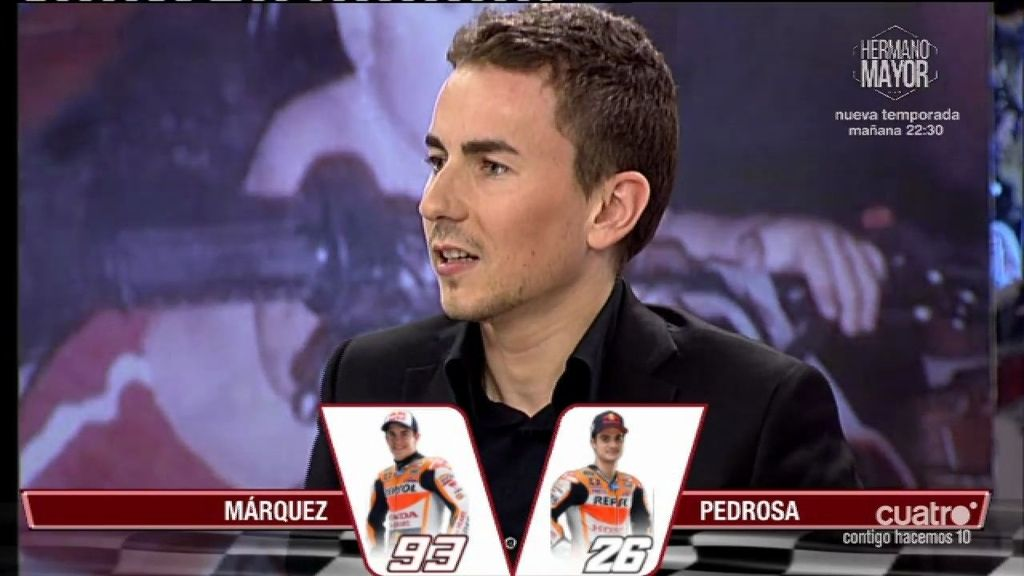 "Jorge Lorenzo: ""Dani Pedrosa se merece como mínimo un título de MotoGP"""
