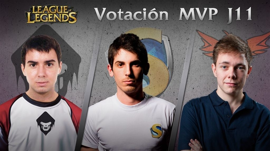 Candidatos a MVP en la División de Honor de League of Legends (Jornada 11)