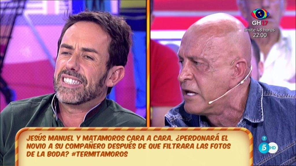 "Matamoros se enfrenta a J.M.: ""Eres falso, cobarde y lo peor como compañero"""