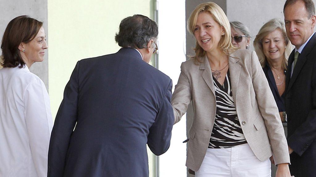 La Infanta Cristina, imputada por un delito fiscal y blanqueo de capitales
