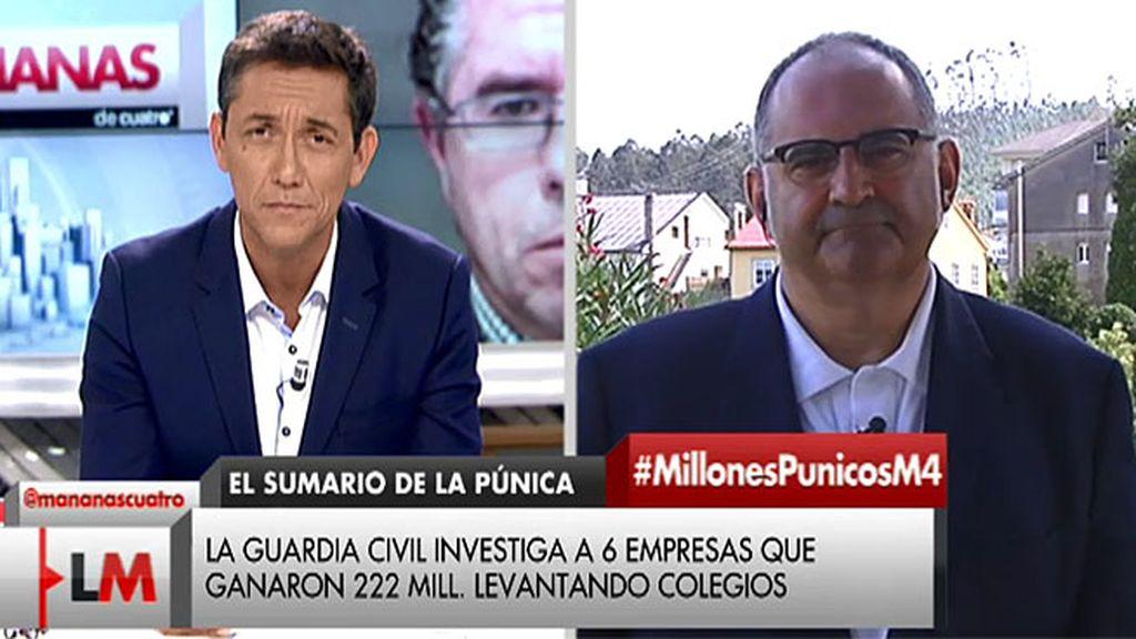 """Antón Losada: """"El ministro del Interior ha mentido en el parlamento"""""""