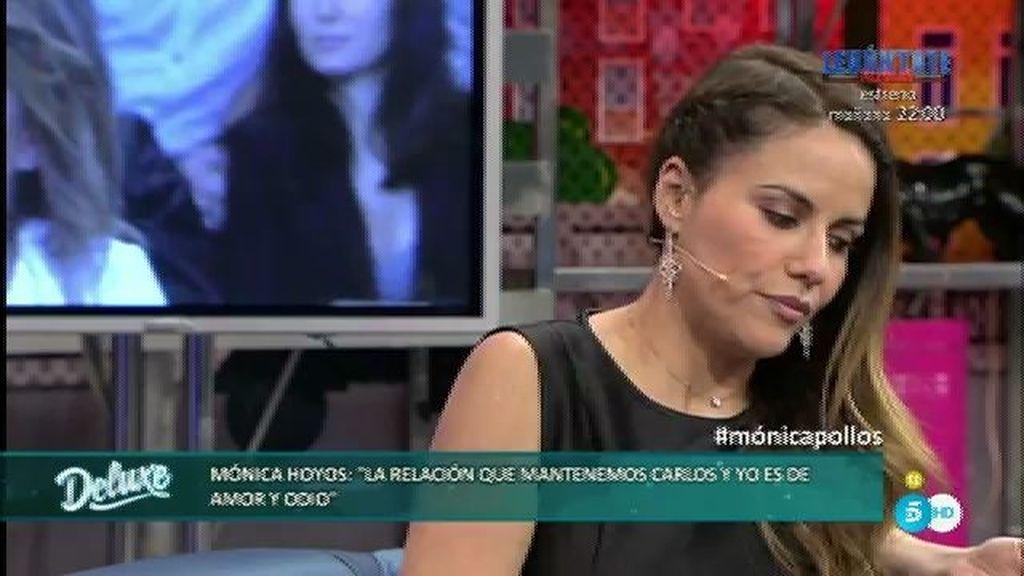 """Mónica supo de las infidelidades de Carlos por la tele: """"Sentí vergüenza"""""""