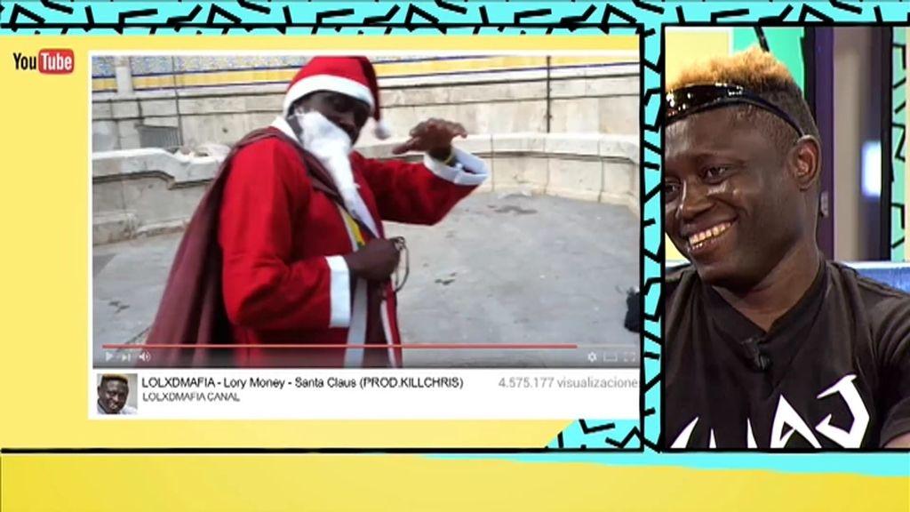 'Hago el Santa Claus', el primer videoclip de Lorey Money