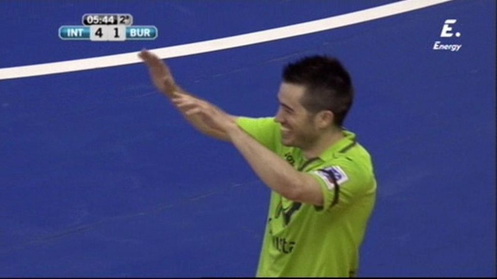 Rafael pone el quinto de la victoria tras un gran pase de Ricardinho (5-1)