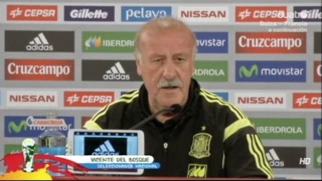 """Vicente del Bosque: """"En plena competición no es momento de hablar de mi futuro"""""""