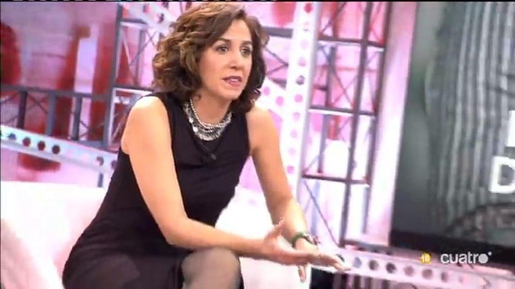 """Irene Lozano responde a Rosa Díez: """"Debería preguntarse por qué la gente se va de UPYD"""""""