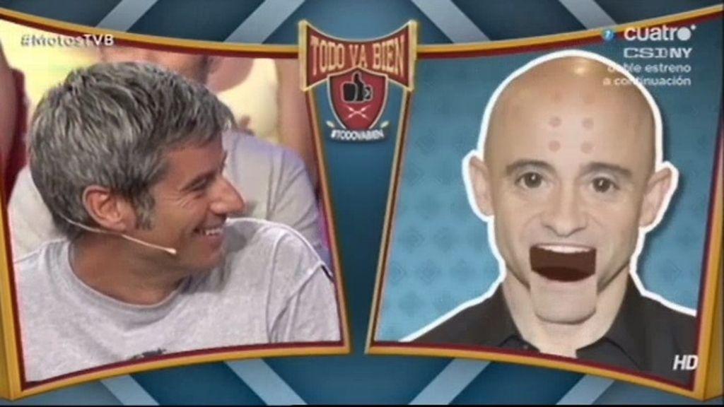Antonio Lobato (alias Krilin) obliga a gritar '¡Guauu!' a Mellissa Jiménez y Nico Abad