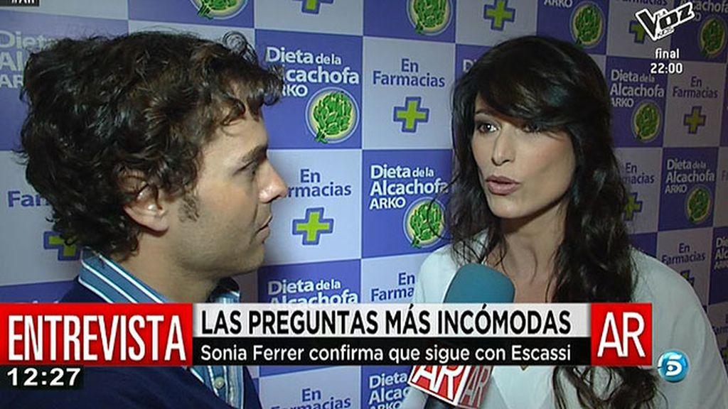 """Sonia Ferrer: """"Patricia puede decir lo que quiera pero Álvaro no me ha sido infiel"""""""