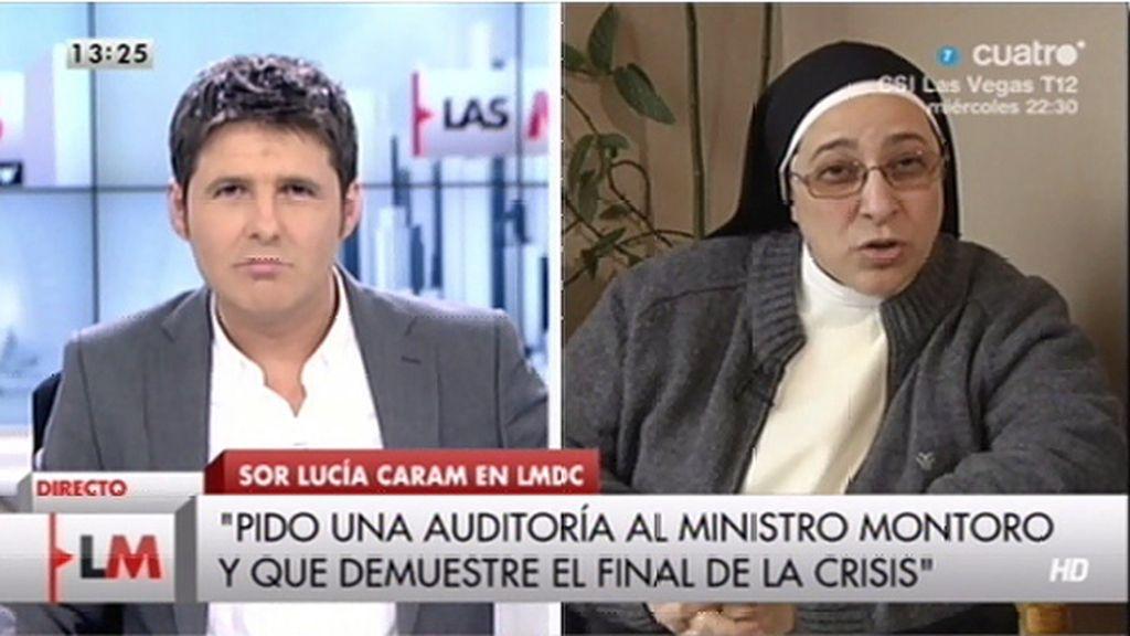 La entrevista a Sor Lucía Caram, online