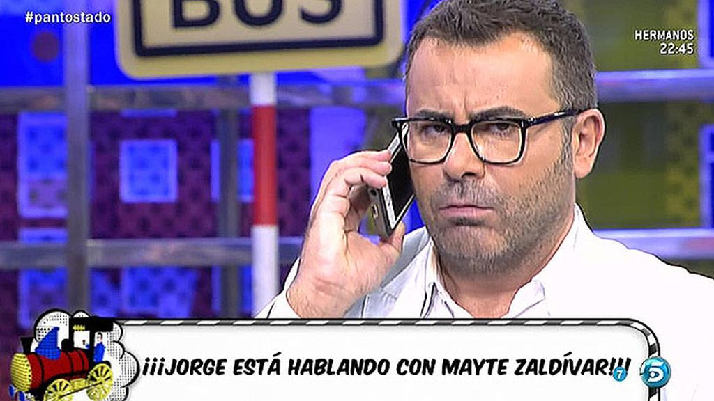 """Jorge Javier, sobre Mayte Zaldívar: """"Se ha echado a llorar pensando en sus nietos"""""""