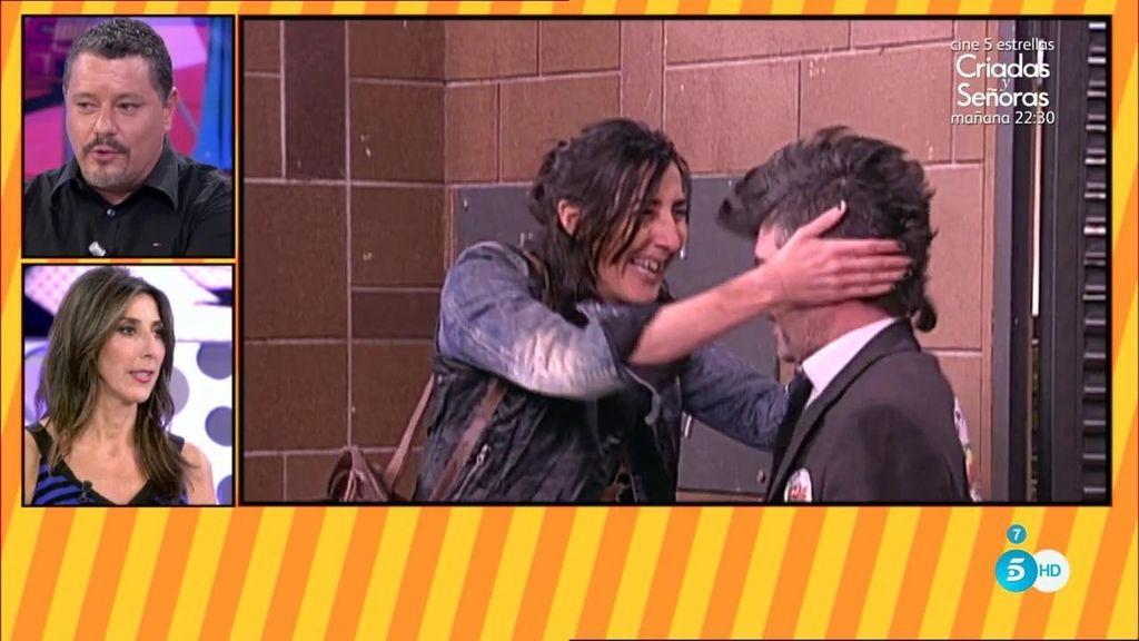 Jorge Berrocal y Paz Padilla doblan una escena de LQSA