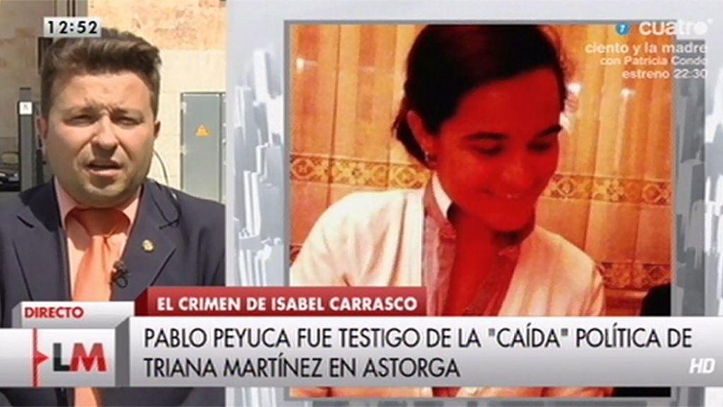 """Pablo Peyuca: """"Triana decía que era una decisión de la presidenta haberla echado"""""""
