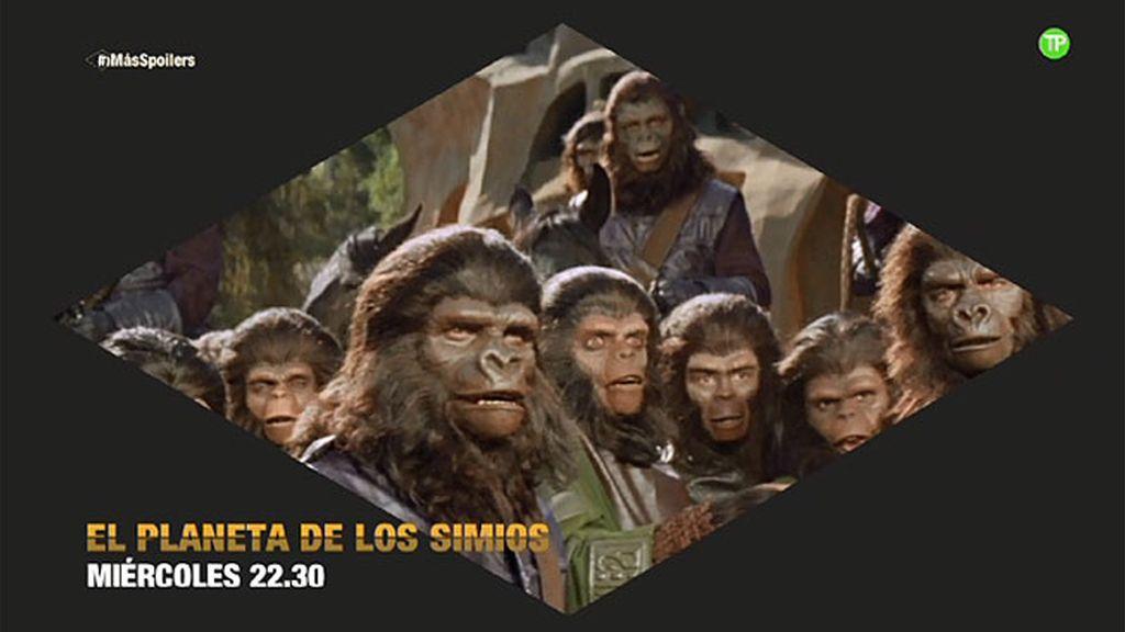 'El planeta de los simios', este miércoles a las 22.30 horas en Energy