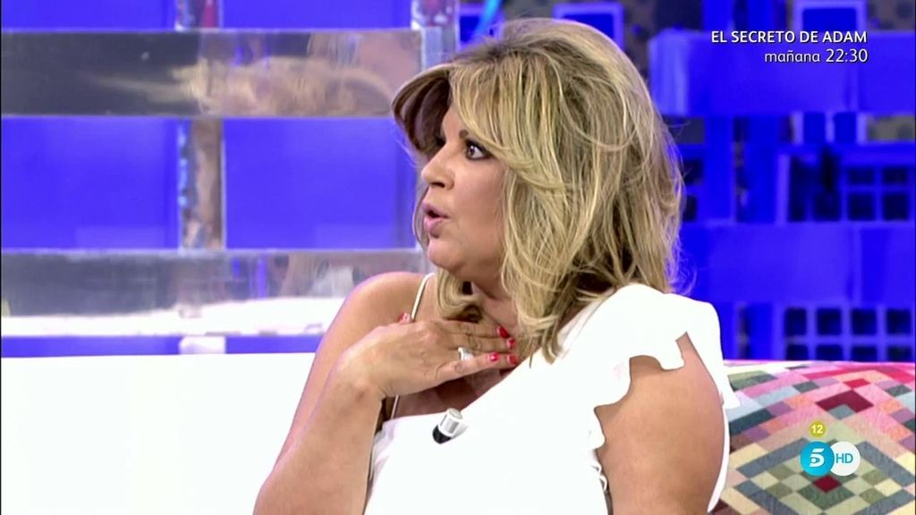 """Terelu Campos: """"No me he sentido traicionada ni vendida por Luis Rollán"""""""