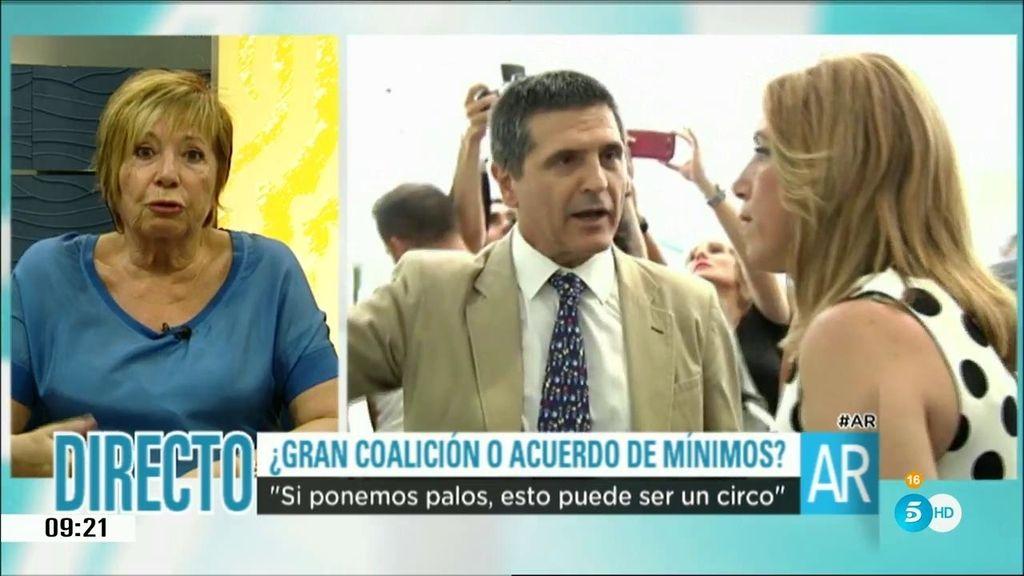 """Celia Villalobos: """"En el PSOE hay gente muy razonable"""""""
