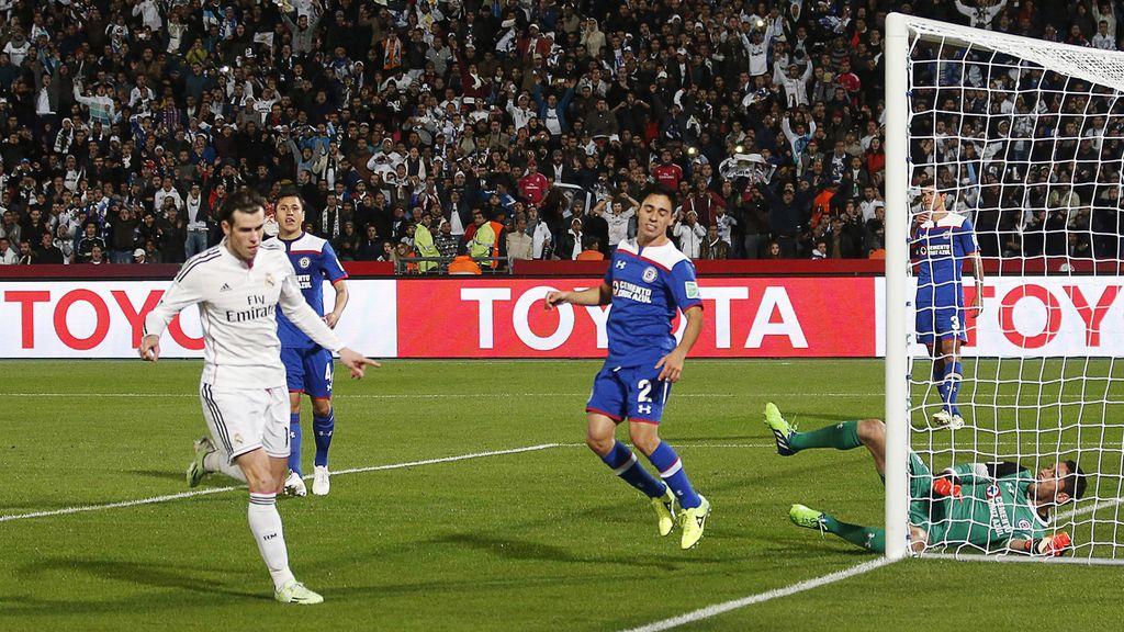 Bale culmina la contra letal del Madrid para hacer el tercero al Cruz Azul (0-3)