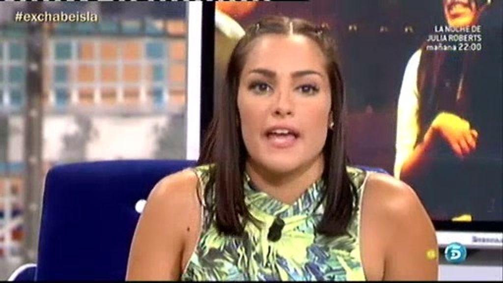 """Estefanía: """"Al final se ha descubierto cómo es realmente Alberto Isla"""""""