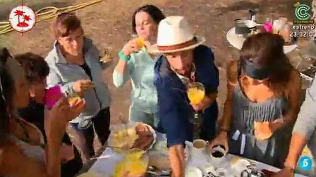 Los concursantes se llevan una sorpresa y saborean un suculento desayuno