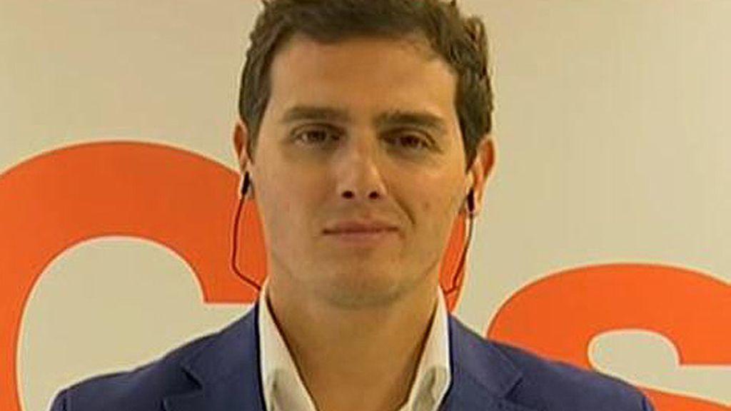 "A. Rivera: ""España necesita ser gobernable, pero que se gobierne de otra manera"""