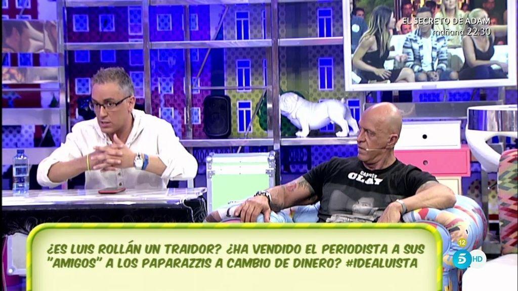 """Kiko Matamoros, de su hija Laura y su representante: """"Están en el convencimiento de que Luis Rollán les ha traicionado"""""""