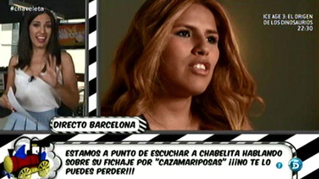 Nuria Marín explica en qué consiste 'Yo soy Isa', la sección de Chabelita
