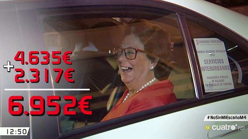 A Rita Barberá el Senado le sube el sueldo: ahora cobrará 7.000 euros al mes