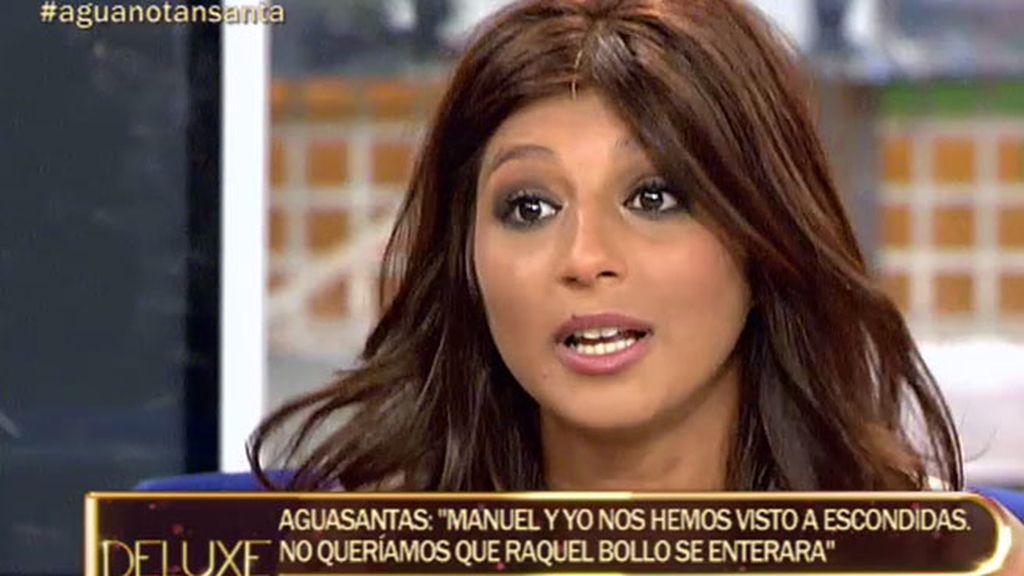 """Aguasantas: """"Manuel me contó llorando la reacción que tuvo su madre"""""""