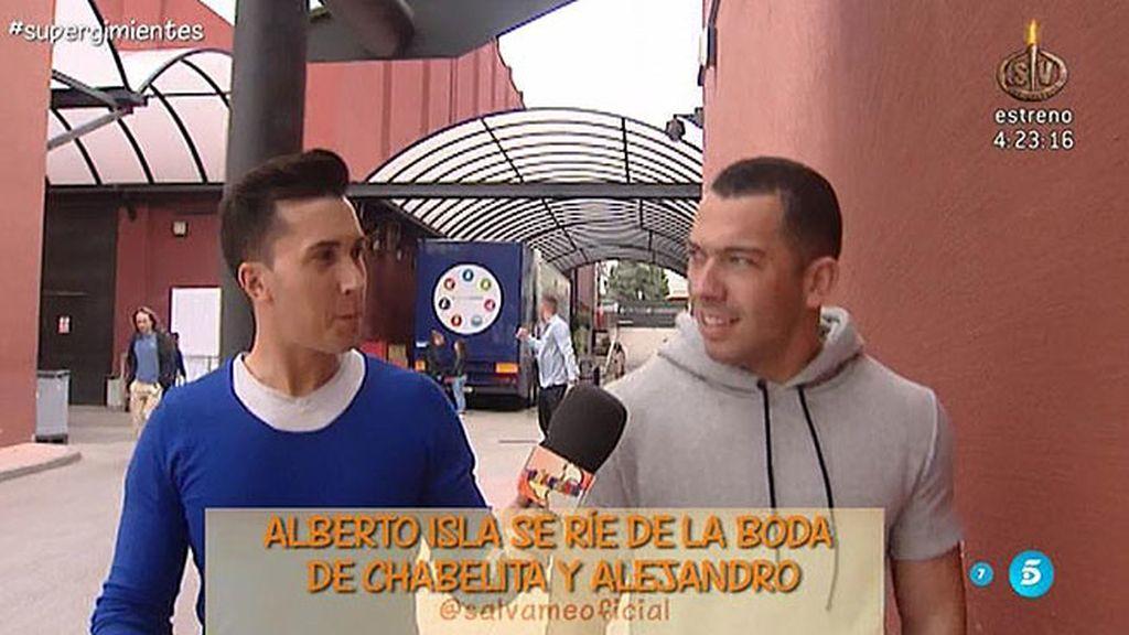 """Alberto Isla, irónico sobre la boda de Isa y Alejandro: """"Les deseo mucha felicidad"""""""
