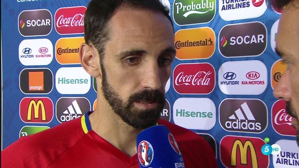 """Juanfran: """"Lo más justo hubiese sido el empate e irnos a la prórroga"""""""