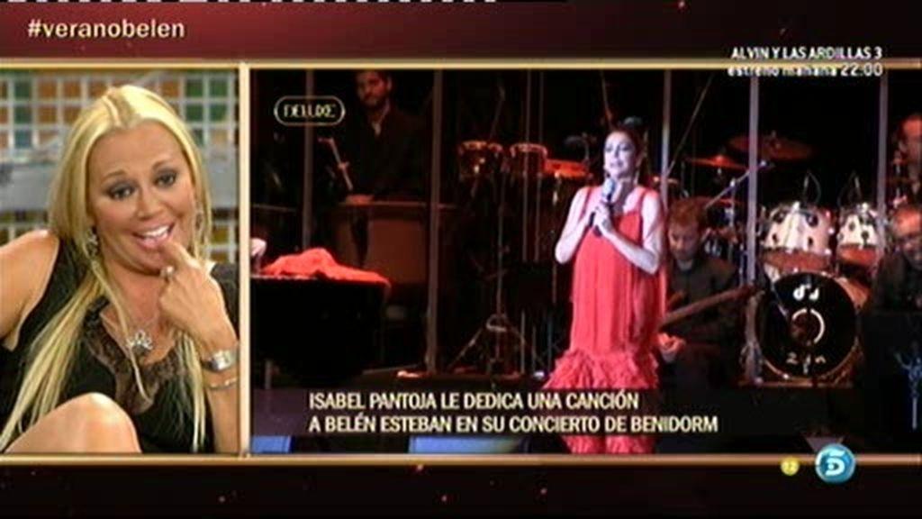 """Belén Esteban: """"Isabel Pantoja se ha portado genial conmigo y con mi familia"""""""