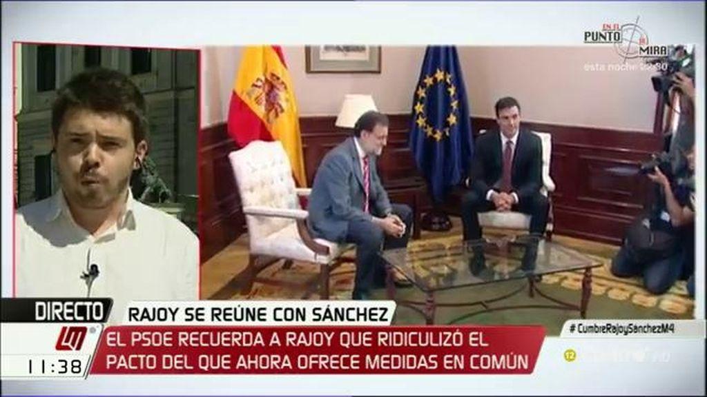 """Nacho Corredor: """"No tiene por qué haber un gobierno a cualquier precio"""""""