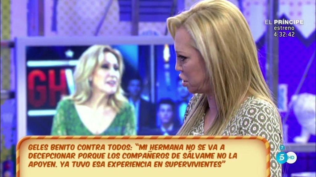 """Belén Esteban, de Rosa Benito y Raquel Bollo: """"Me dolió que mis dos amigas no dijeran ni una palabra cuando estaba en 'GH VIP"""""""